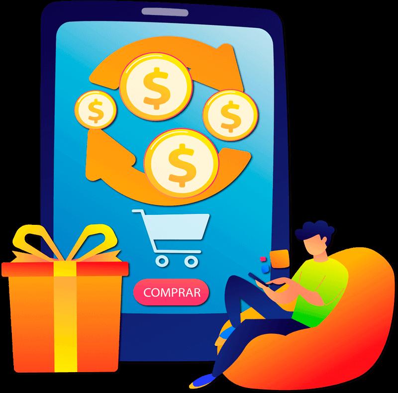 imagem que representa o cashback da zaz tech